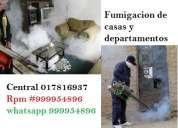 Fumigacion, exterminio de ratas, eliminacion de ratas, fumigacion de cucarachitas de cocina