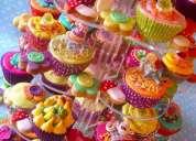 Fiestas infantiles, bocaditos con diseños para niños