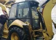 Retroexcavadora caterpillar 420e del 2010
