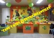 Decoracion de plantas vs zombies para fiestas infantiles