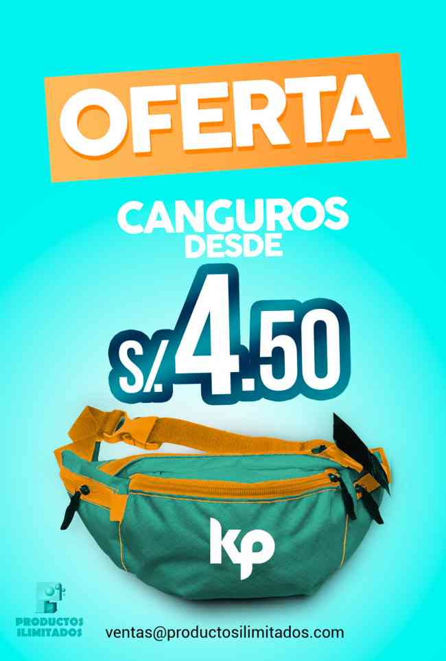 ¡OFERTA! CANGUROS PUBLICITARIOS desde S/ 4.50