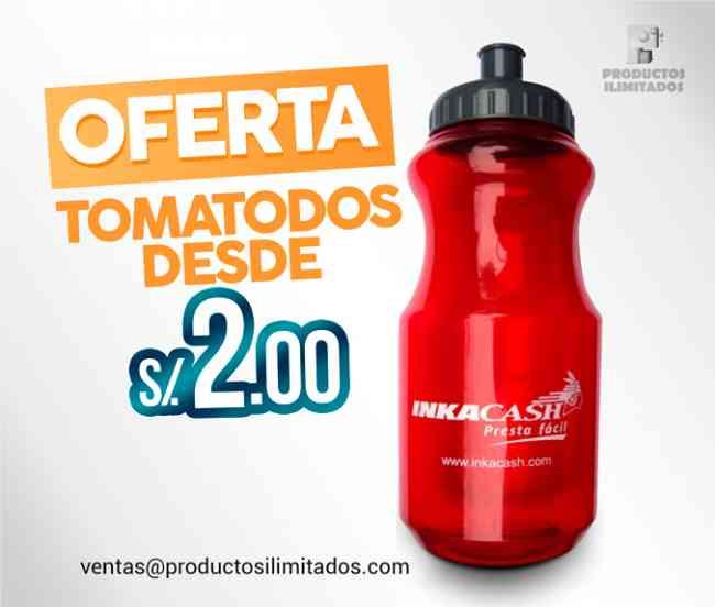 ¡OFERTA! TOMATODOS PUBLICITARIOS desde S/. 2.00