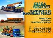 Transporte de maquinaria pesada -remolques -cama baja- 981186465 #968003156