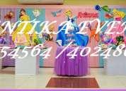 Decoración de princesas disney para fiestas infantiles en lima