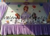 Decoraciones para fiestas infantiles de princess sofia  en lima