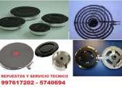 Hornillas, quemadores para cocinas /bosch, klimatic, general, whirpool, kenmore, +++/997617202