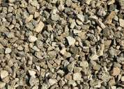 Vendo piedra chancada, piedra de zanja, confitillo