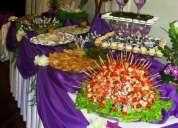 Delicioso buffets criollo e internacional