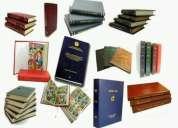 Se realiza servicios de empastados de libros