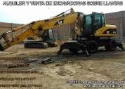 Excavadoras sobre ruedas  caterpillar 248 en alquiler y en venta 991452580