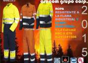ropa antiflama certificada s/.230.00