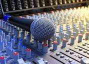 CuÑas publicitarias y  grabaciones de efectos par radio