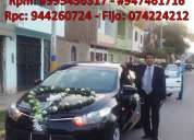 alquiler de autos para matrimonio en chiclayo