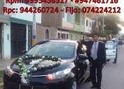 alquiler de autos para matrimonio en chiclayo lambayeque