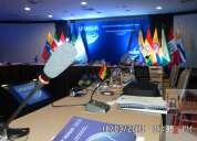 Microfonos de debate. audio para conferencias y  equipos de traduccion lima y peru