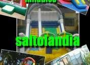 Juegos inflables en alquiler  saltolandia alquiler de trampoli camas elasticas saltarines