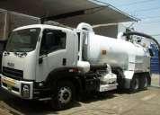 Alquiler de camiones cisterna hidrojet ,equipada con bombas al vacio. cel 946467271