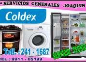 Lavadoras coldex servicio técnico garantizado a domicilio 2411687