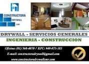 Construcciones, ampliaciones y remodelaciones en drywall 5684070 / 949073383