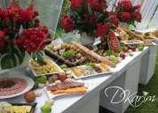 Menaje,buffet,catering,bodas,pistas de baile led