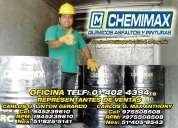 venta de emulsion asfaltica chemimax