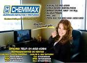Instalacion de mantos asfalticos chemimax