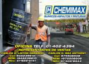 Emulsiones asfalticas chemimax 975508508