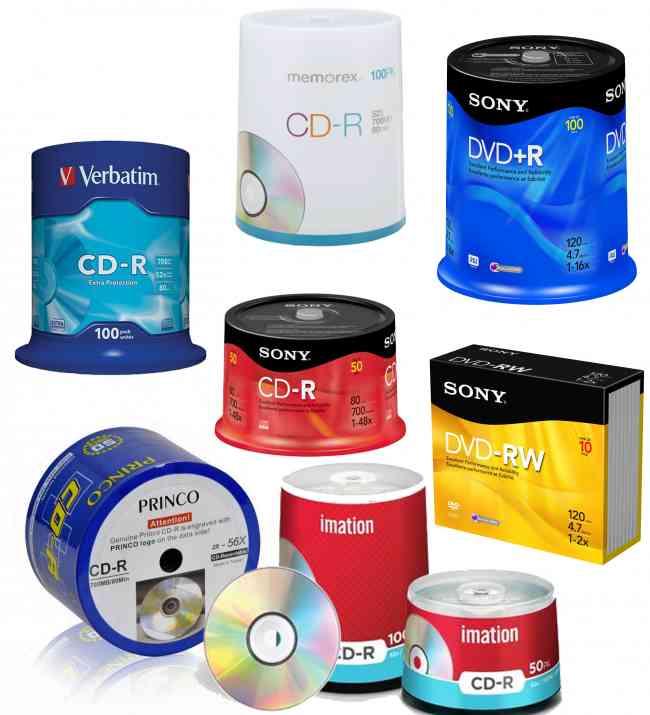 Distribuidor de discos en blanco CD, DVD, BLURAY ESTUCHE. Ventas a provincia