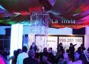 #orquesta para #matrimonios #fiestas eventos orquesta show #en lima perú  la trivia