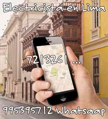 Electricista en Cercado de Lima 995395712 Alfredo