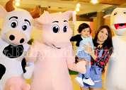 show infantil de la granja .baby kids party