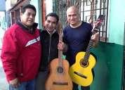 Damos serenatas con guitarras (trio los amigos del rimac)