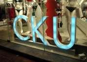 Fabricaciones de letreros luminosos led y letras trupan