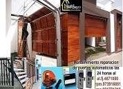 Mantenimiento  de puerta  garajes lima 4671050