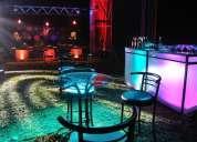 Salas lounge,pistas de baile,bodas,menaje,buffet,catering
