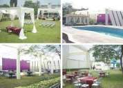 alquiler local casa para eventos fiestas bodas matrimonios promociones huachipa catering buffet