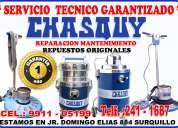 Servicio técnico chasquy reparación de aspiradoras industriales 2411687