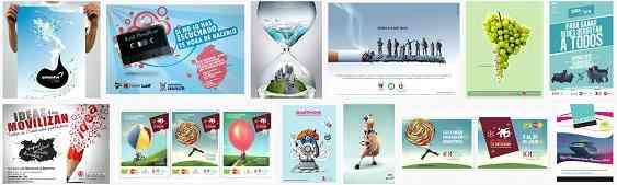 afiches A3 - diseños