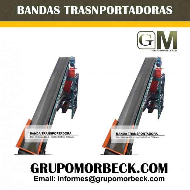 Bandas Transportadoras para su linea de produccipon