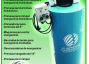 Prensa mangueras hidraulicas hasta 2