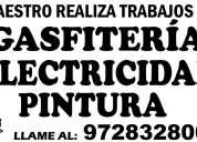 Gasfitero, electricista, pintor 972832800