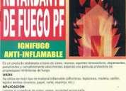 Pintura ignifuga - barniz ignifugo - retardante de fuego 998280609/990206664  somos fabricantes