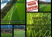 Grass sintetico, precios promocionales u$s 12,00 el m2, lider grass perÚ , rpc: 991002616