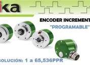 Encoders programables y variadores de frecuencia