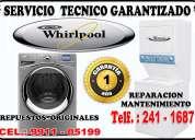 servicio técnico whirlpool centro de lavadora  991105199
