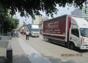 Mudanzas , embalajes y transporte