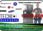 Electrolux daewoo(446-5798) servicio tecnico de refrigeradoras