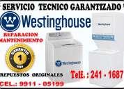 Reparacion centro de lavado westinghouse 2411687 en lima