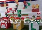 Mario bros ,decoración para fiestas  infantiles en lima