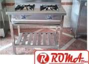 Cocina industrial acero inox, refrigeracion roma diaz